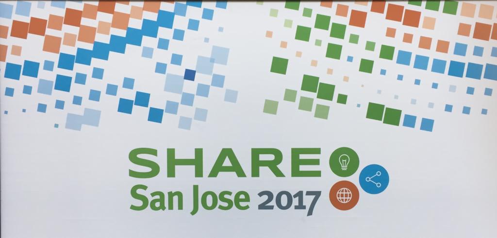 SHARE San Jose 2017 poster